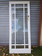 OLD GLASS ENTRANCE DOOR