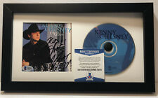 KENNY CHESNEY SIGNED AUTOGRAPHED FRAMED CD DISPLAY I WILL STAND BECKETT COA