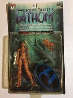 "Moore Collectibles~Fathom~""Michael Turner""~1999~Action Figure~6""~Top Cow~NM"