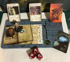 Painted - Mansions of Madness dashboards / trays. Gameplay organiser set of 5