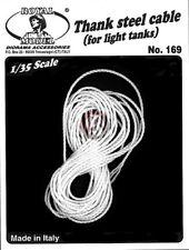 Royal Model 1/35 Tank Steel Cable No.2 for Light Tanks [Nylon AFV / Diorama] 169