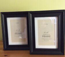 Next Set Of 2 Hampton Black Frames 6x4