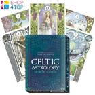 CELTIC ASTROLOGY ORACLE CARDS AND BOOK LO SCARABEO ANTONELLA CASTELLI DARA NEW