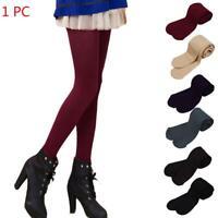 Damen Thermo Leggings Warm Fleece Winter Blickdicht Strumpfhose Leggins Legging