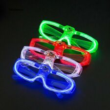 12 Frame LED Flashing Glasses Light Up Sunglasses Wedding Party Favor Packs