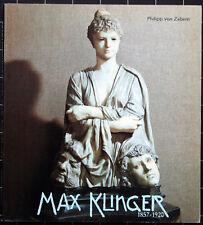 Philipp von Zabern. Max Klinger. Wege zum Gesamtkunstwerk. 1984. Symbolismus.