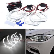 LED Angel Eye DTM Style LED Kit Halo Ring White For BMW E90 2006-2010 E92 07-10