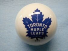 NEW! NHL Toronto Maple Leafs White Pool  Billiard Cue Ball Replacement New Logo!