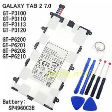"""Batterie Pour Samsung Galaxy Tab 2 7.0"""" GT-P6200 P6201 GT-P6208 GT-P6210 P3120"""