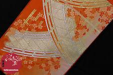 KIMONO YUKATA OBI JAPANESE GENUINE CEINTURE JAPONAISE SILK SOIE ANTIQUE JAPAN