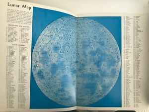 Vintage Lunar Map - Sky Publications - Harvard Observatory