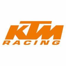 Kit 2 adesivi vinile tuning KTM RACING moto custom decals stickers