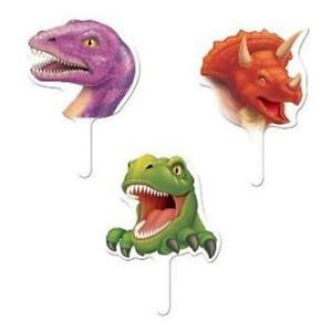 Dino Blast Cupcake Toppers 12 Pack Dinosaur Birthday Party Decoration
