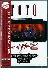 TOTO-LIVE AT MONTREUX 1991-JAPAN DVD+CD N44 zd