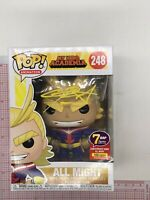Funko Pop! All Might #248 Signed Chris Sabat 7BAP Exclusive 100 Pcs MHA J02