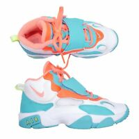 Nike Air Max Speed Turf GS White Bright Mango Teal Basketball Kids Youth Size 5Y