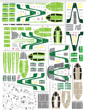 Star Wars Decals 1/144 Bandai Y-Wing Green Group vehicle model 005