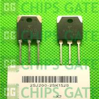 1PCS Transistor TOSHIBA TO-3P 2SJ200/2SK1529 J200/K1529 100% Genuine and New