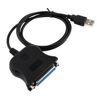 6FT USB to RS232 Serial Adapter Cable 25 Pin DB25 Male Connector