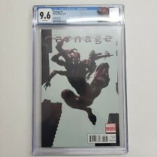 Marvel Comics Carnage #1 Second Printing Clayton Crain Variant CGC 9.6 W Pages