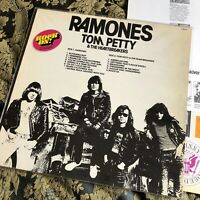Ramones / Tom Petty & The Heartbreakers Rock On! 1977 COMPLETE LP Vinyl SWEDEN