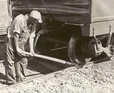 Antique Railroad Train Car Mover Lever Johnson Bar Advance Safety Car Wrench 100