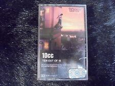 ~USED~ 10CC: Ten Out Of 10 Cassette Tape