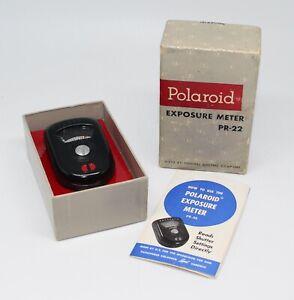 Polaroid PR-22 Bakelite Exposure Meter for Speedliner, 700 & Pathfinder cameras