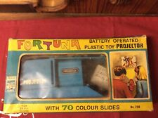 Vintage Fortuny Battery Operated Plastic Projector Toy