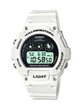 Casio Classic Collection White Men's Watch W-214HC-7AVEF