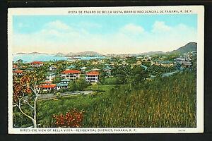 PANAMÁ 06-PANAMÁ -Vista de pajara de Bella Vista, Barrio Residencial de Panamá