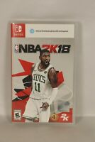 Kyrie Irving NBA 2K18 (Nintendo Switch, 2017) Complete
