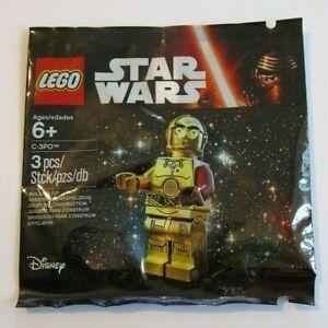 LEGO Polybags - Star Wars, C3PO Edna Mode Batman Minifigures Party Bags