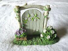 Celebrate It Tiny Treasures Easter Swinging Gate Miniature - Nip