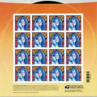 Janis Joplin Sheet of 16 Forever Stamps Scott 4916