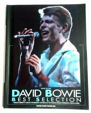 DAVID BOWIE BEST SELECTION BAND SCORE JAPAN GUITAR TAB