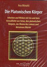 DIE PLATONISCHEN KÖRPER - 2 Audio CD mit Ava Minatti ( wie Drunvalo ) NEU