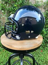 Navy Blue Riddell Revolution Football Helmet & Facemask Decal Ready - Large