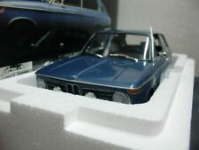 WOW EXTREMELY RARE BMW E10 2000tii Touring 1971 Blue 1:18 Minichamps-Auto Art/GT