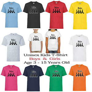 The Beatles Music Band Abbey Road Holiday Kids Unisex Birthday Top T-Shirt 117