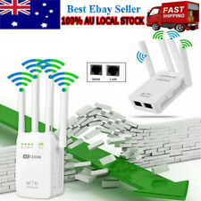 1200Mbps WiFi Extender Repeater Signal Booster Wireless Router Range Network NEW