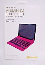 Hype Aluminum Bluetooth Keyboard Case and Stand for the iPad Mini Pink