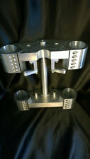 ZRX1200 Billet 'Thug' Fork Yokes to fit USD forks Kawasaki Triple Trees