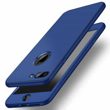 For Apple iPhone Case - 360 Full Cover Shockproof Thin Hybrid TPU Cover