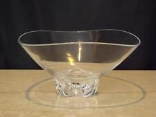 Vintage Steuben Signed Crystal Art Glass Bowl