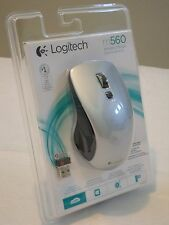 NEW - Logitech Wireless Unifying Mouse M560 for Windows 7/8/10 SILVER 910-003910