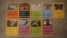Lot de 9 cartes holo Pokémon (Légendes Brillantes)