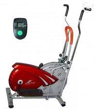 Cross Trainer Fitness Vélo eliptique robuste Rouge