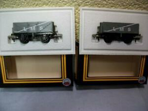 7-Plank Open Wagon 602508 'L.M.S.' x 2 By Dapol B111 '00' Gauge Boxed & Unused!