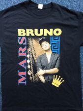 Bruno Mars UK Tour Shirt2018.Size large.